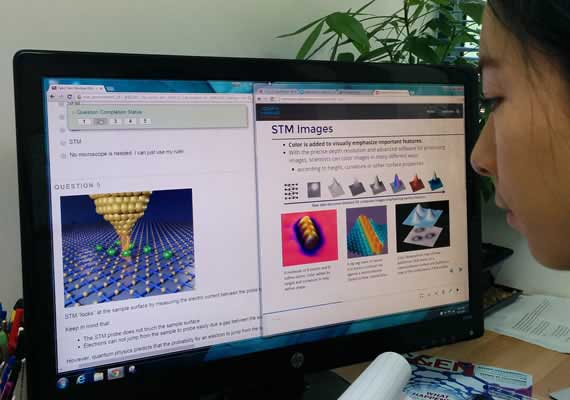 A STEM Student Learns Nanotechnology with Omni Nano's Cutting Edge Curriculum