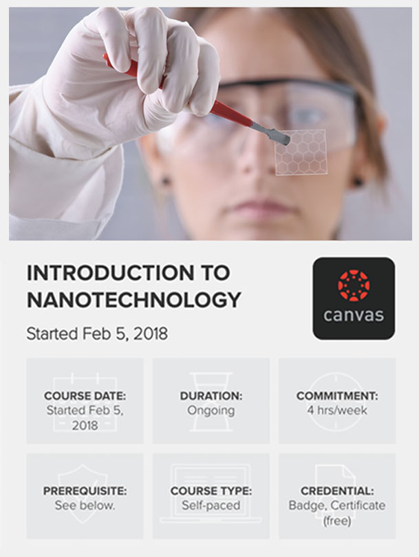 """Enroll now in Omni Nano's MOCC """"Introduction to Nanotechnology"""""""